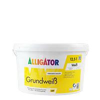 Alligator Grundweiß LEF 12,5l, Weiß