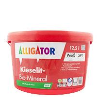 Alligator Kieselit-Bio-Mineral 12,5L weiss, Silikatbasis