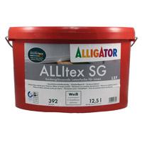 Alligator Allitex SG 12,5L weiss ,Latexfarbe, Seidenglänzend