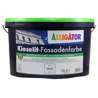 Alligator Kieselit-Fassadenfarbe 12,5L MIX, Sol-Silikatfarbe
