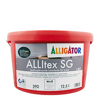 Alligator Allitex SG 12,5L weiss ,Latexfarbe, Seidenglänzend