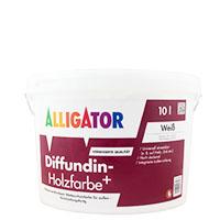 Alligator Diffundin- Holzfarbe+ 10L MIX