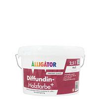 Alligator Diffundin- Holzfarbe+ 2,5L MIX