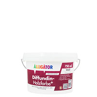 Alligator Diffundin- Holzfarbe+ 750ml MIX