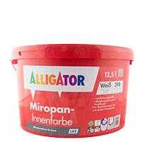 Alligator Miropan Innenfarbe LKF 12,5L weiß, Siliconharz-Innenfarbe