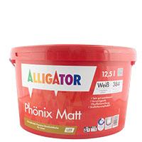 Alligator Phönix Matt 12,5L LEF weiß, Premium-Wandfinish