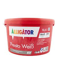 Alligator Presto Weiß LEF 12,5L weiss ,Dispersions-Innenfarbe, hochdeckend