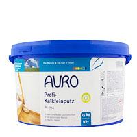 Auro Profi-Kalkfeinputz Nr.345 15kg weiß