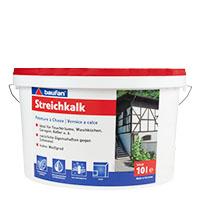 Baufan Streichkalk 10L weiss, Kalkfarbe, Mineralfarbe