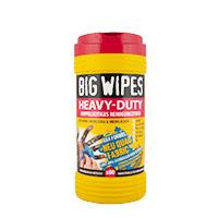 Big Wipes Heavy Duty Doppelseitige Reinigungstücher 80 Stück
