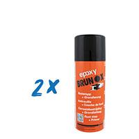 2x Brunox Epoxy Rostumwandler 400ml Spray Roststopp