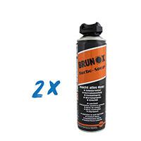 2x Brunox Turbo-Spray Power 500ml, Schmiermittel