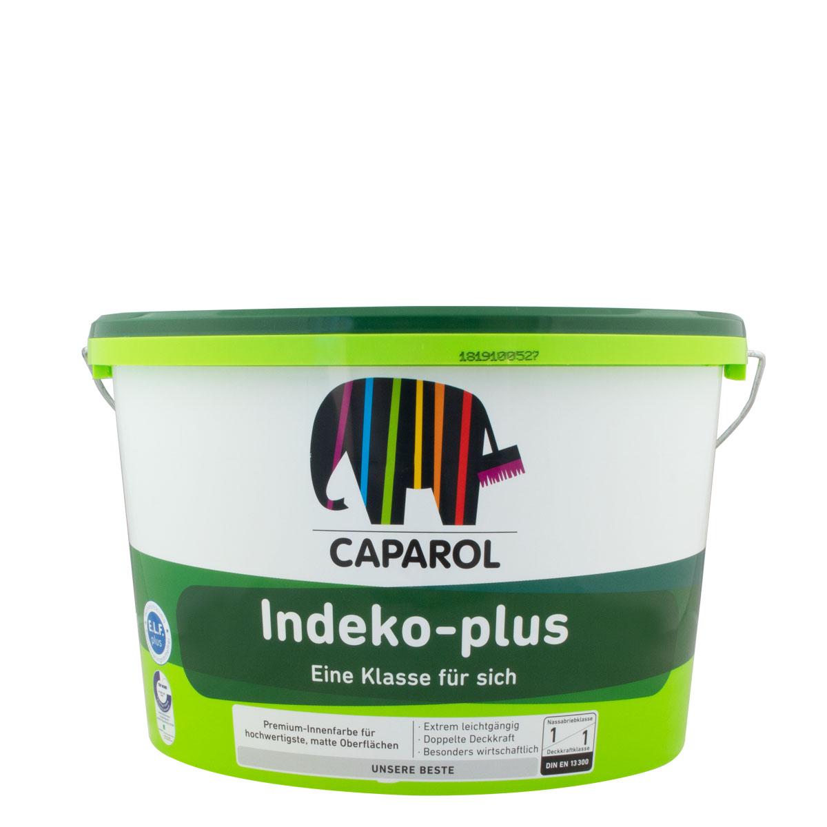 Caparol Indeko Plus 12,5L MIX PG B, HBW <40, premium Innenfarbe, hochdeckend