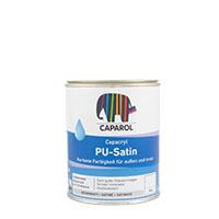 Caparol Capacryl PU-Satin 0,75L Weiss ,seidenmatt PU-Acryllack