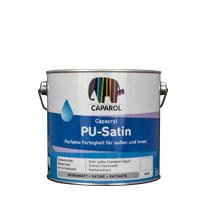 Caparol Capacryl PU-Satin 2,5L Weiss ,seidenmatt PU-Acryllack