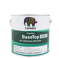 Caparol Capalac Base Top Venti versch. Größen, weiß