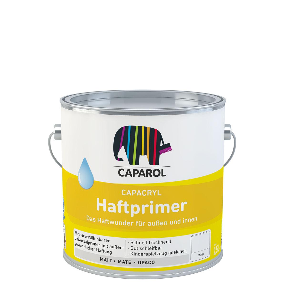 Caparol Capacryl Haftprimer 2,5L weiss Haftvermittler