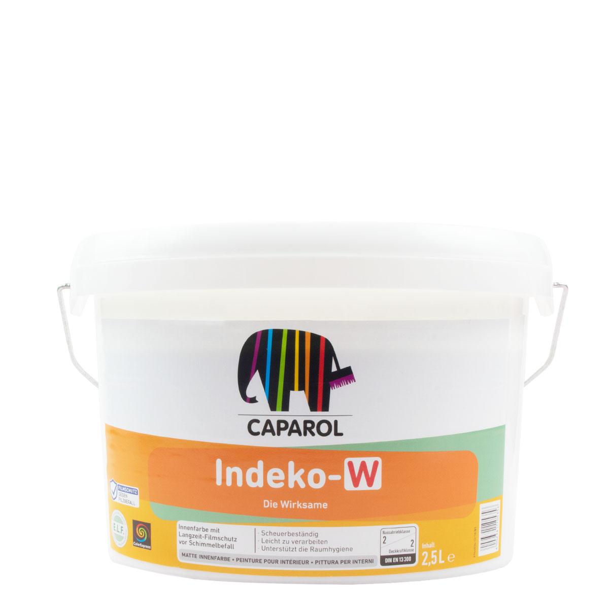 Caparol Indeko-W 2,5L weiss, Schimmelfarbe für Innen