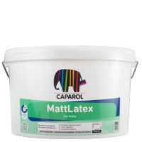 Caparol Mattlatex 12,5L weiss, hochdeckende Latexfarbe