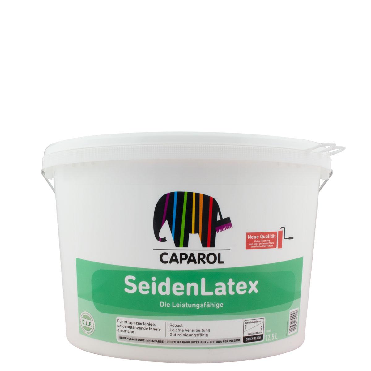 Caparol SeidenLatex 12,5L ,weiss ,trapazierfähige Innenfarbe