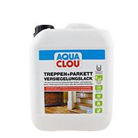 Aqua Clou Treppen- und Parkett Versiegelungslack 5L L10; seidenglänzend