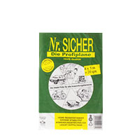 Abdeckfolie, Abdeckplane HDPE 12my ,NR Sicher, 4x12,5m (50qm) Profiplane(grün)