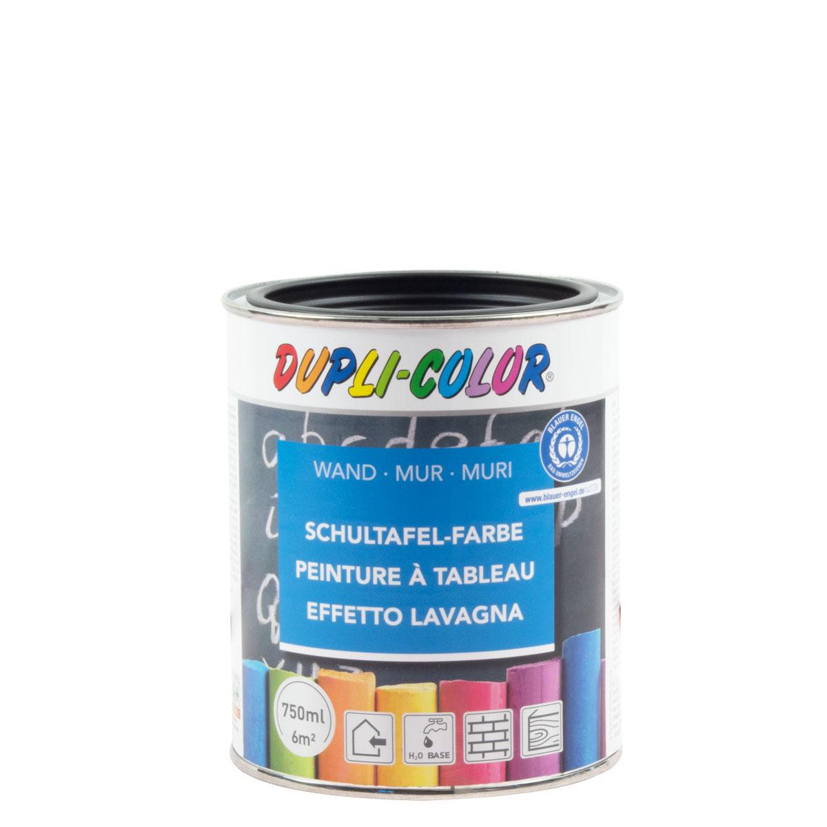 Dupli-Color Schultafel-Farbe schwarz 750ml , Schultafellack