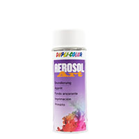 Dupli-Color Aerosol-Art Grundierung weiss, 400ml, Spraydose