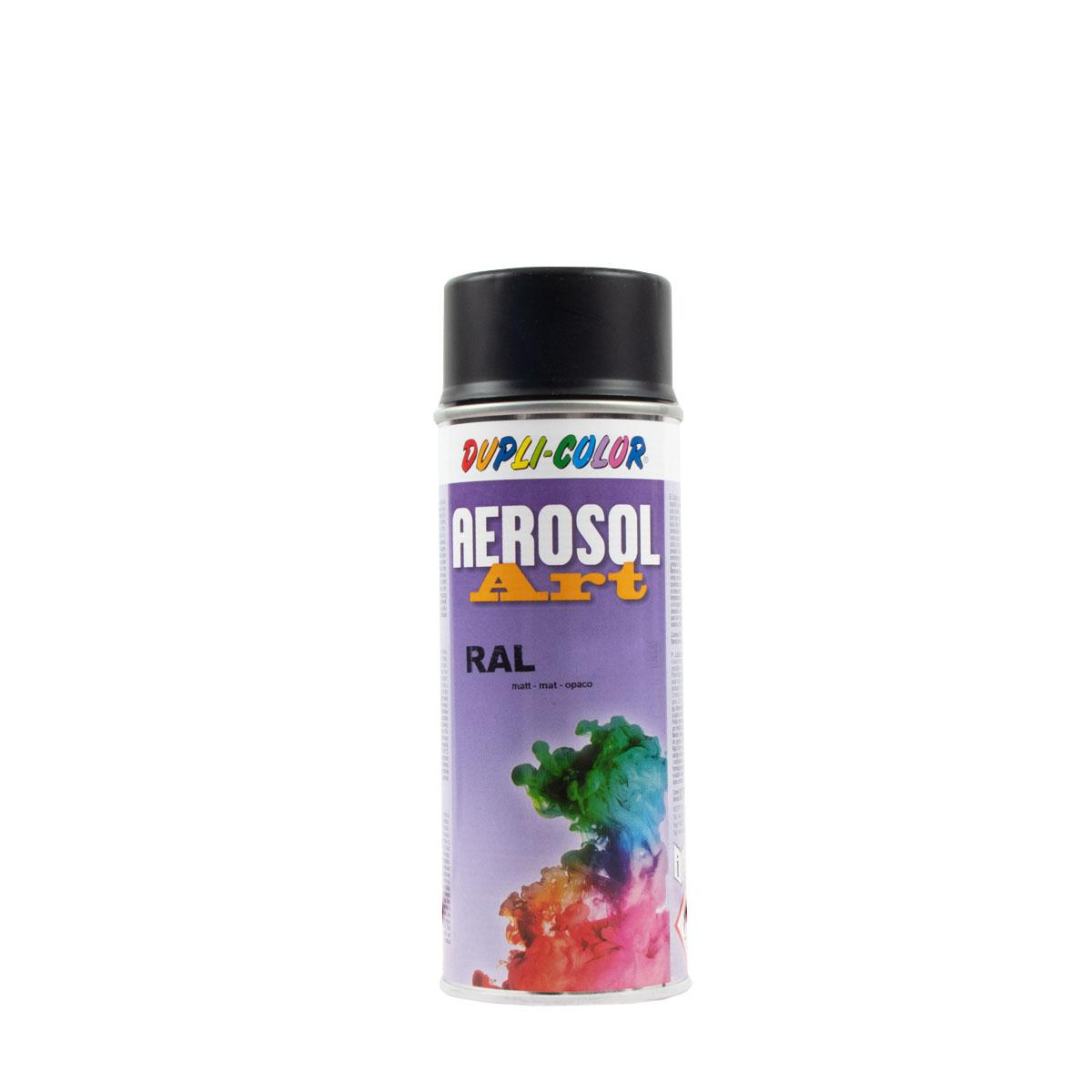 Dupli-Color Aerosol-Art matt 400ml RAL 9005 tiefschwarz, Sprühlack