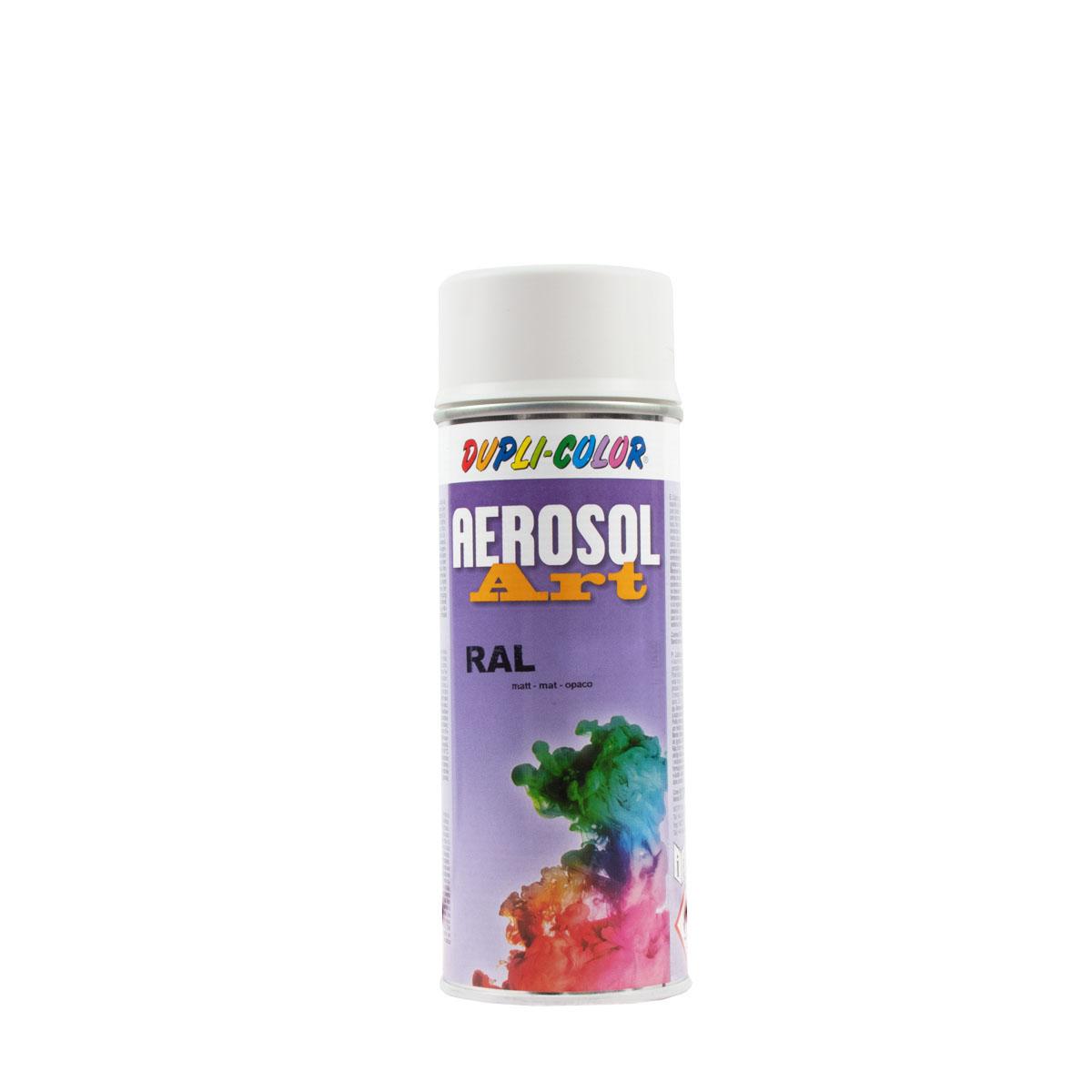 Dupli-Color Aerosol-Art matt 400ml RAL 9010 reinweiss, Sprühlack