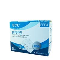5x ECK KN95 Atemschutzmaske FFP3/FFP2, Mundschutz 5er Pack