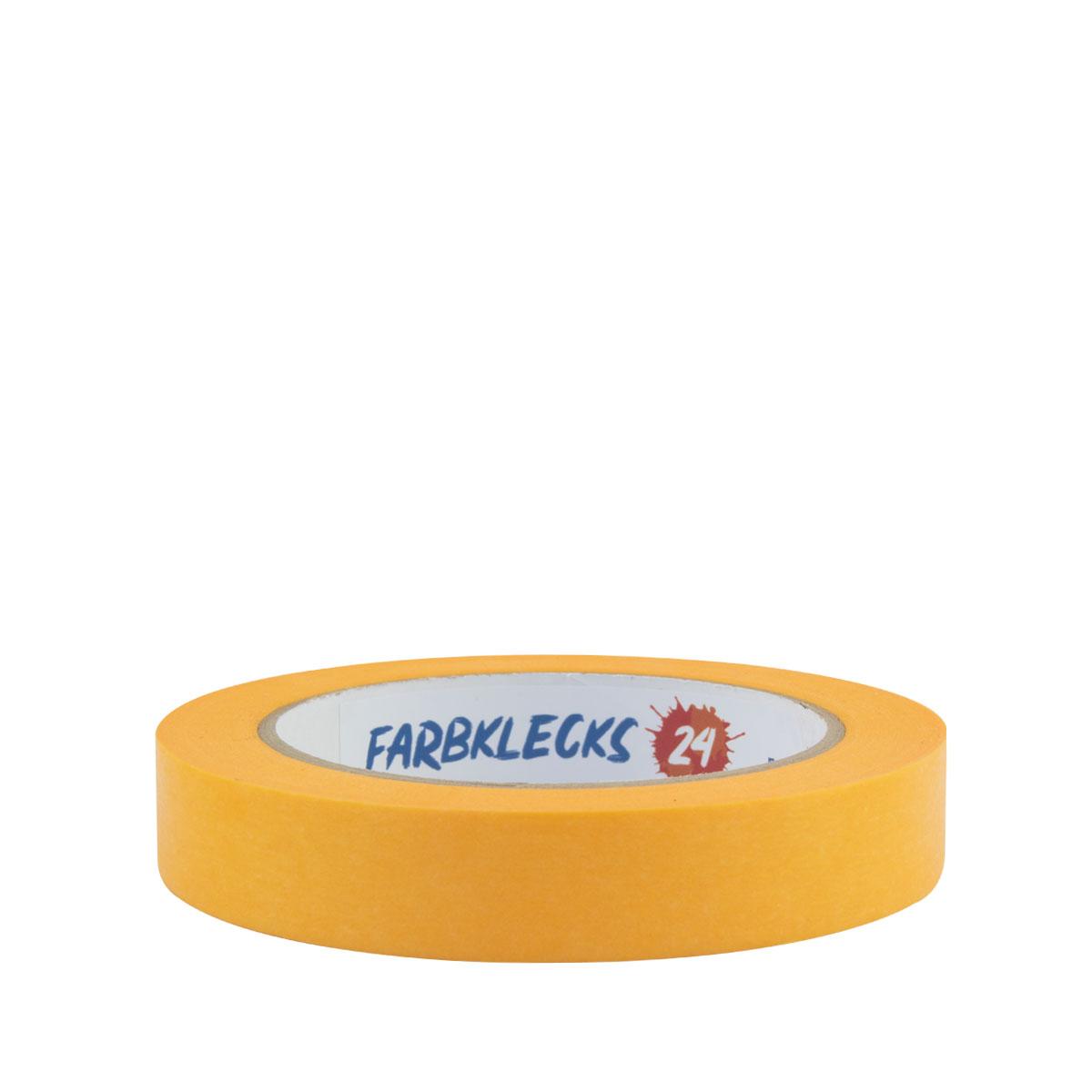 Farbklecks24 Klebeband Gold, Goldband 19mm