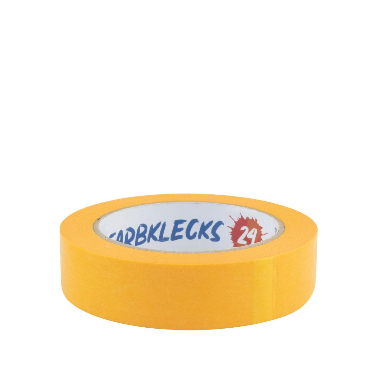 Farbklecks24 Klebeband Gold, Goldband 25mm