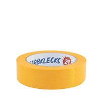 Farbklecks24 Klebeband Gold, Goldband 30mm