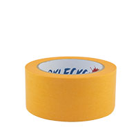 Farbklecks24 Klebeband Gold, Goldband 50mm