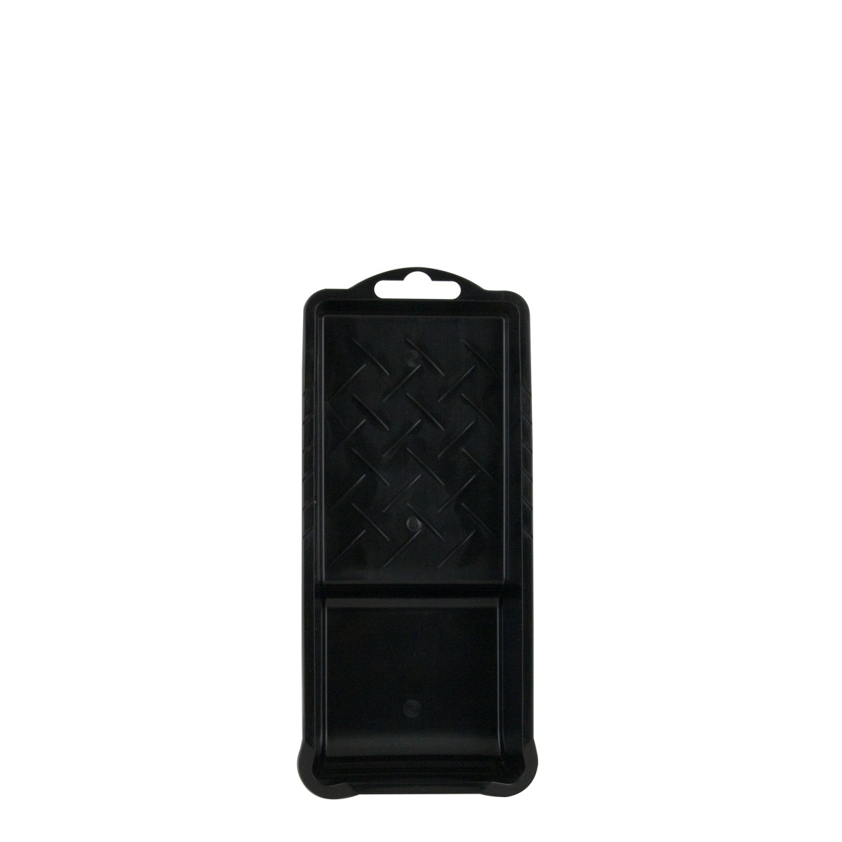 Farbklecks24 Farbwanne Kunststoff, schwarz, Lackwanne, 10 x 22cm