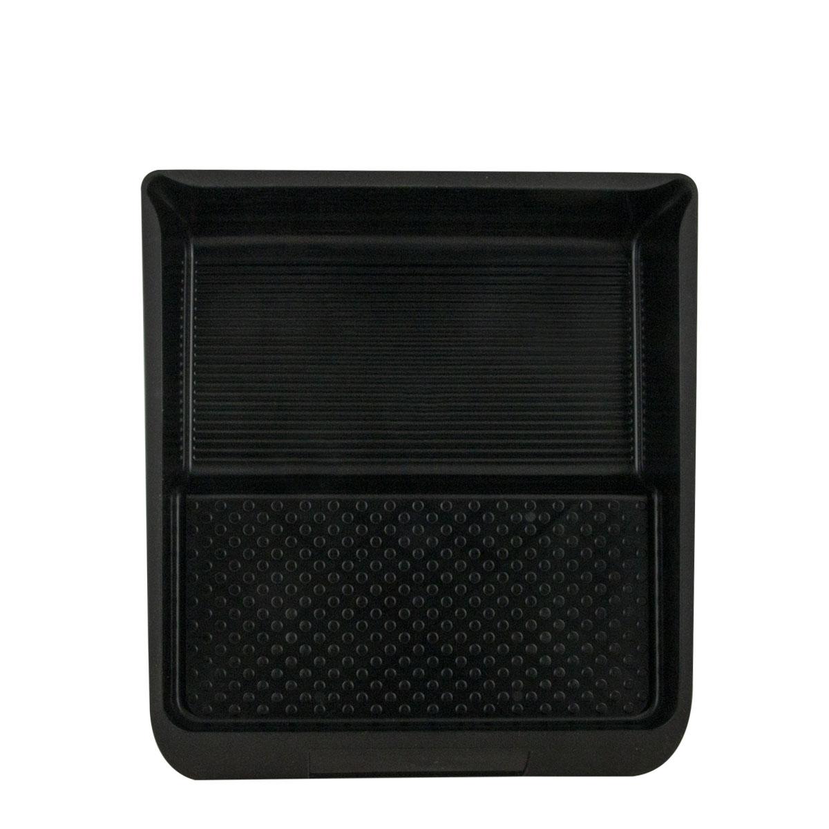 Farbklecks24 Farbwanne Kunststoff, schwarz, Lackwanne, 32 x 36cm