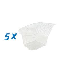 5x Farbklecks24 Farbwanneneinsatz für Expert Cup