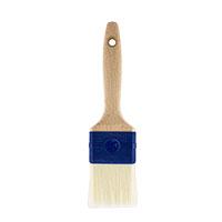 Farbklecks24 Flachpinsel Aqua weiß, versch. Größen