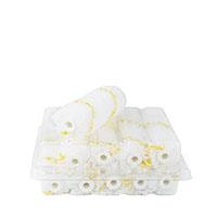 10x Farbklecks24 Goldfaden Heizkörperwalze 10cm, Polyamid