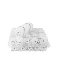10x Farbklecks24 HK-Walze 10cm schwarzfaden, Polyester
