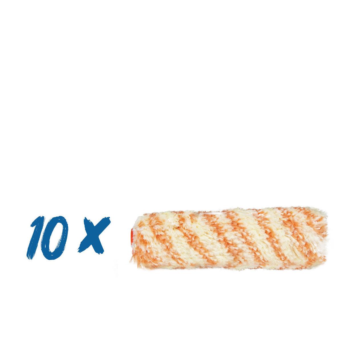 10 x Friess Heizkörperwalze Malerstreif 10 cm, 12mm Flor #F6111550