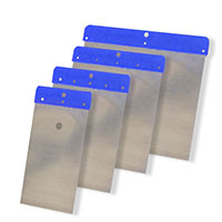 HaWe Japanspachtel Set blau metall 4tlg #14000