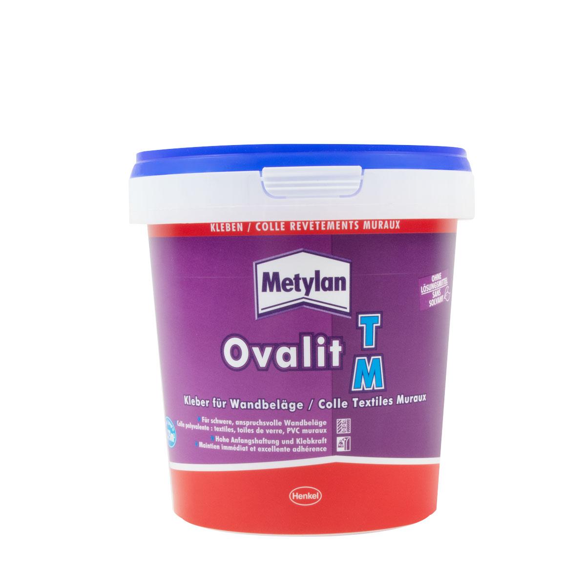 Metylan Ovalit TM Kleber 750g ,Kleber für Wandbeläge