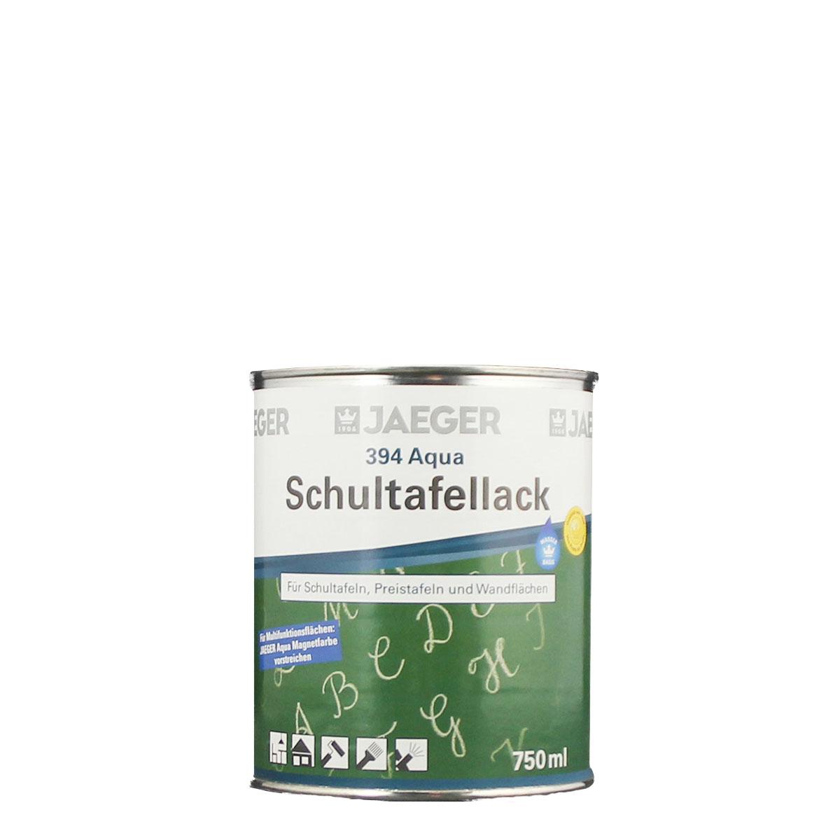 Jaeger Aqua Schultafellack394 750ml , Tischtennisplattenlack
