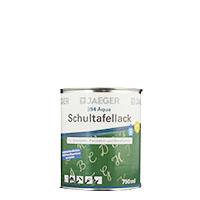 Jaeger Aqua Schultafellack mattschwarz394 750ml , Tischtennisplattenlack