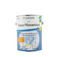 Jaeger Aqua Fliesenlack 875 quarzo(hellgrau) 2,5L, 3 in 1 System