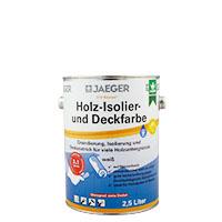 Jaeger Kronen Holz Isolier- und Deckfarbe weiss319 2,5l Seidenglänzend