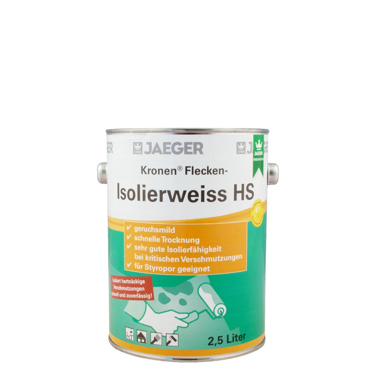 Jaeger 123 Kronen Flecken-Isolierweiss HS 2,5L