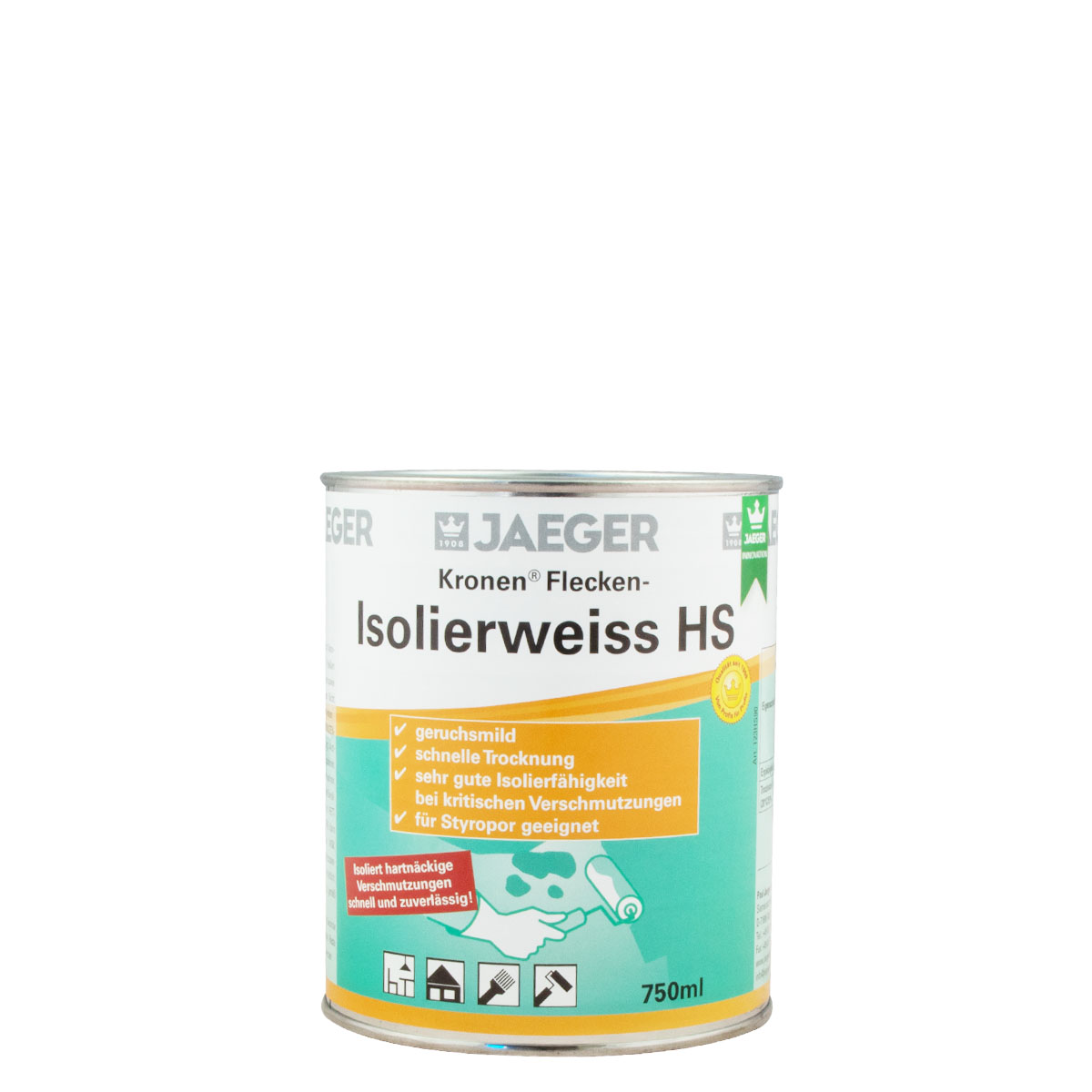 Jaeger Kronen Flecken-Isolierweiss HS123 750ml